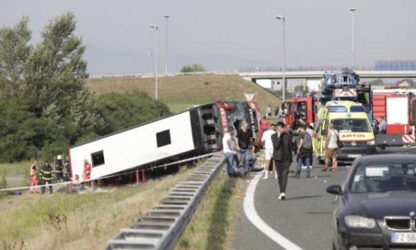 Aksidentohet në Kroaci autobusi nga Kosova, 10 të vdekur