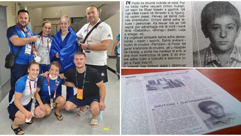 Toni i sportit, medaljeve dhe leximit – Të përbashkëtat e trajnerit Driton Kuka dikur dhe sot