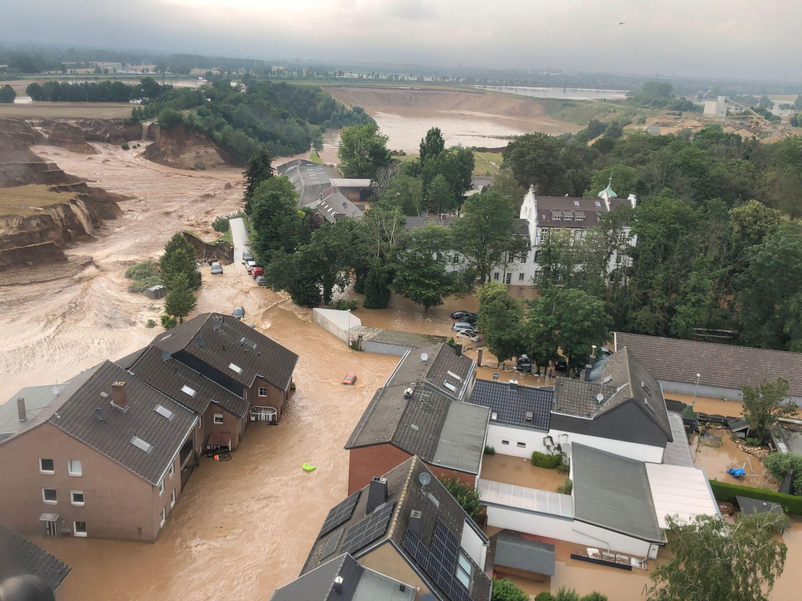 Vërshimet shkatërrojnë Gjermaninë