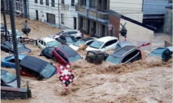 Nuk ka qetësi, rikthehen përmbytjet në Belgjikë