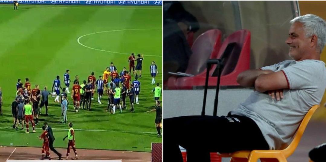 Reagimi epik i Mourinhos ndaj përleshjes së Pepes me Mkhitaryan në miqësore