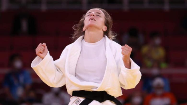 Pas triumfit në Tokio, Distria Krasniqi telefonon prindërit e saj