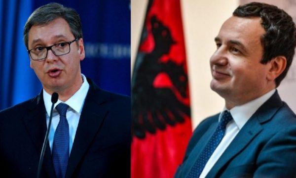Publikohen detaje të reja para takimit Kurti e Vuçiq
