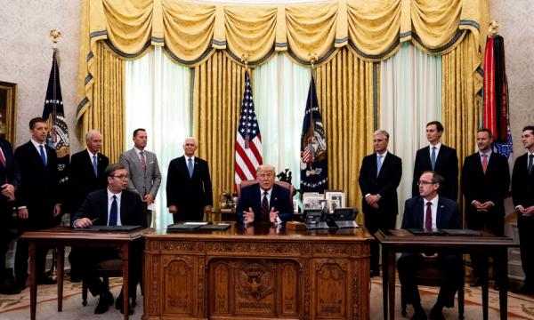"""""""LDK kundër marrëveshjes së Avdullah Hotit e nënshkruar në Shtëpinë e Bardhë"""""""