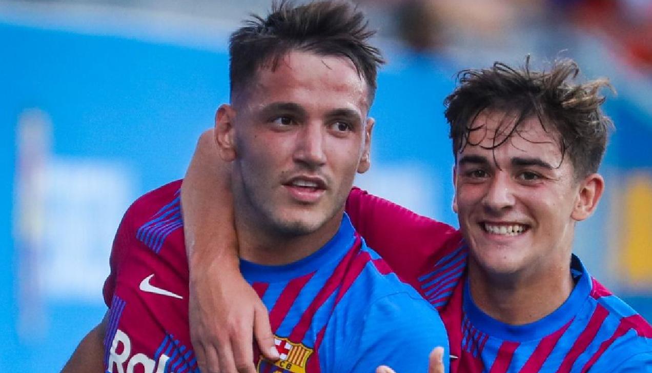 Fantastik Manaj, debuton për Barcelonën me 3 gola