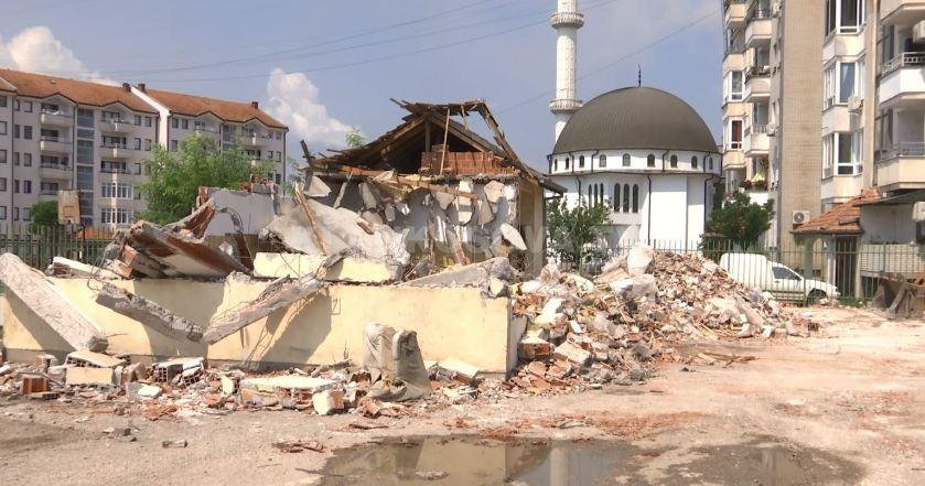 Shkatërrohen rrënojat e tregut në Obiliq