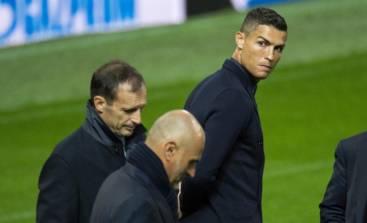 Allegri e paralajmëron Ronaldon