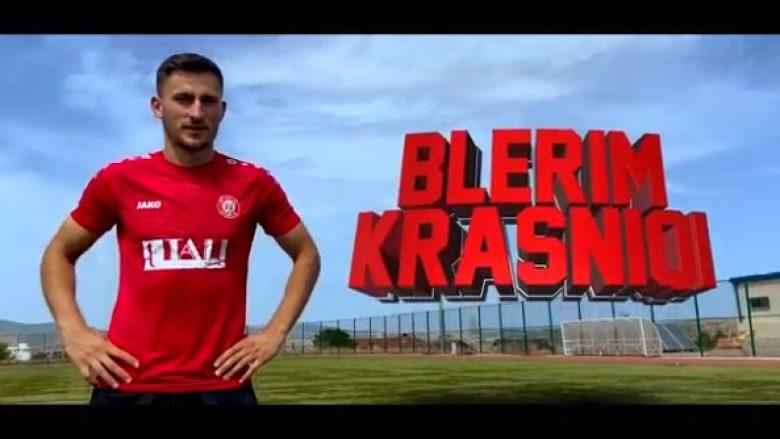 Zyrtare: Gjilani konfirmon transferimin e sulmuesit Blerim Krasniqi