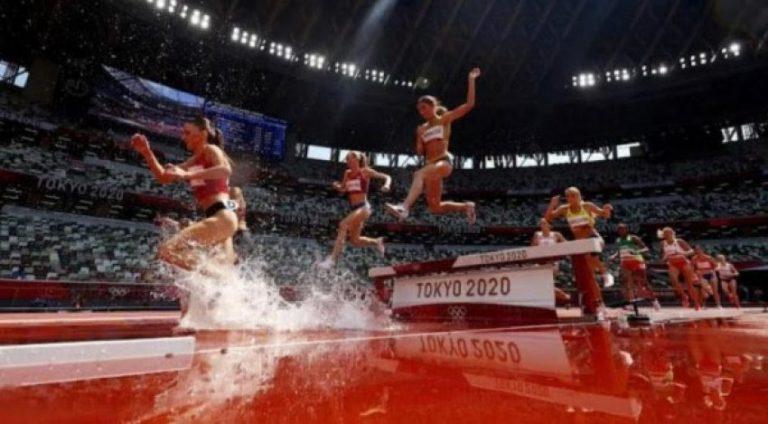 Fantastike:Luiza Gega në finalen e atletikës në Lojërat Olimpike