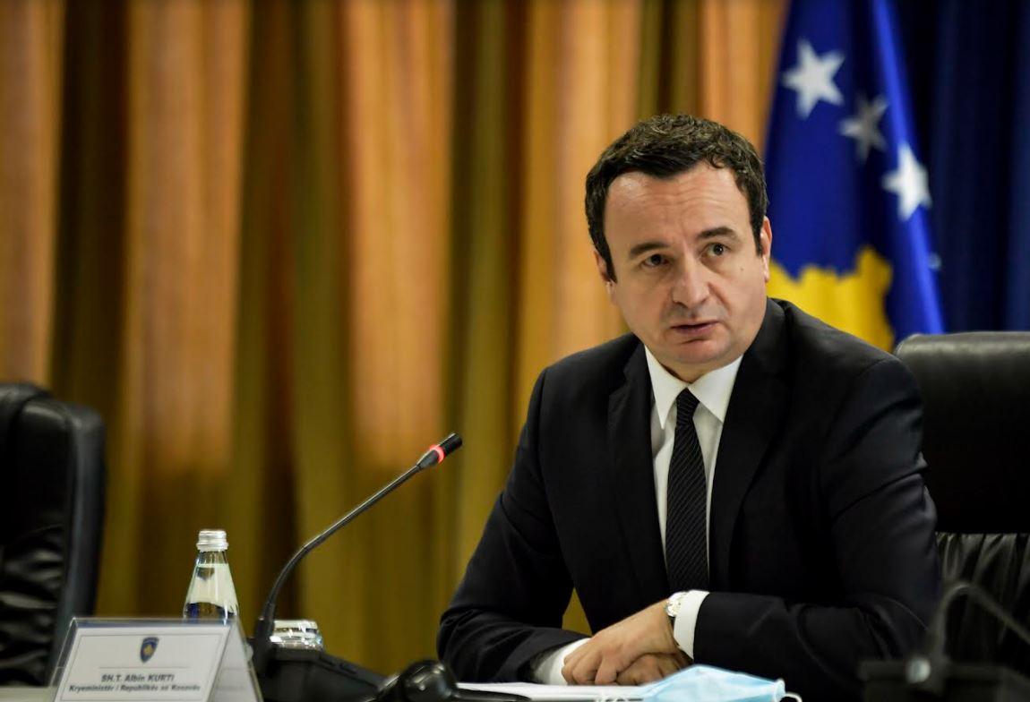 Kurti në Tiranë premton reciprocitetin me Serbinë