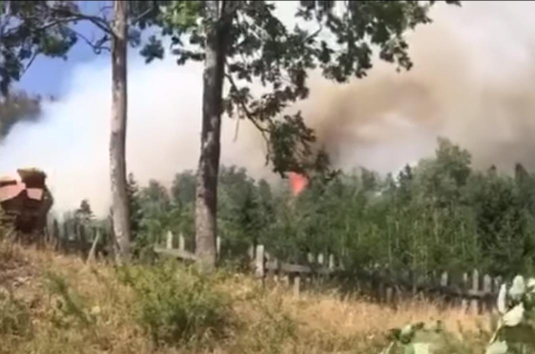 Evakuohen banorët e Rugovës, FSK dhe Policia dalin në vendin e ngjarjes