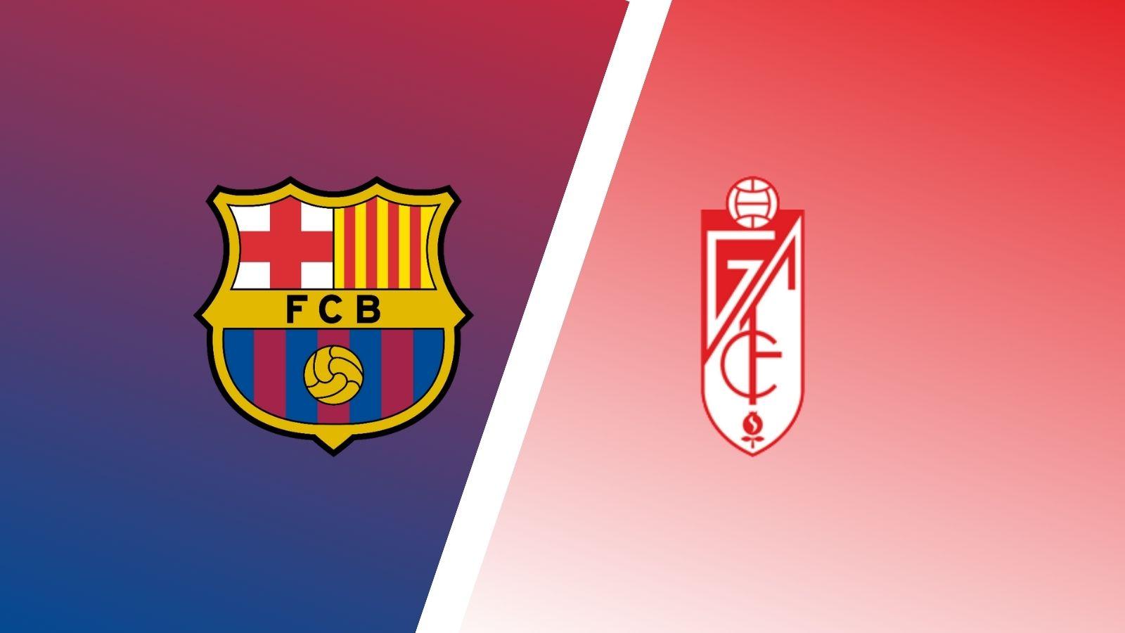 Formacionet zyrtare: Barcelona – Granada