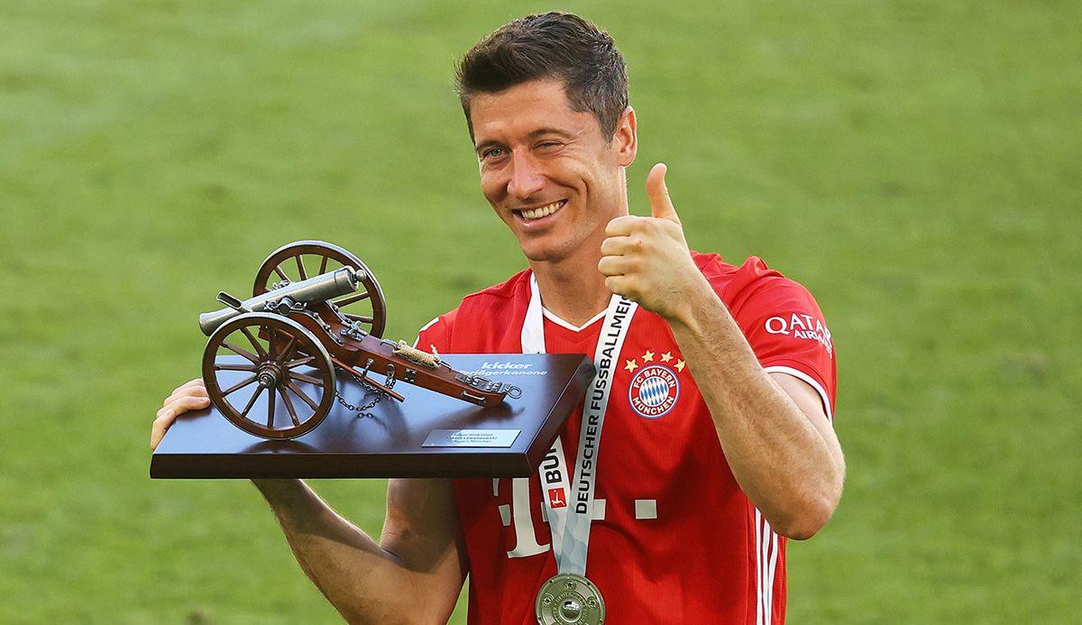 Lewandowski nesër e pranon Këpucën e Artë për vitin 2021