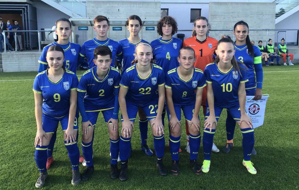 Futboll, ekipi kombëtar i vajzave U17, fiton në Gjerorgji 13:0