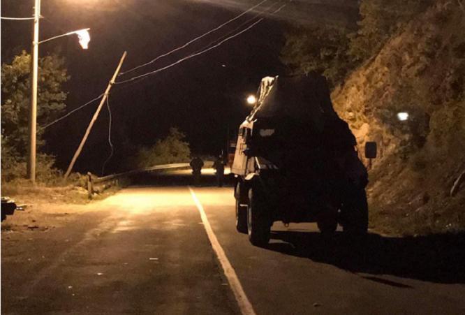 """Zhvendoset """"baza"""" e protestuesve 2.5 kilometra larg kufirit në Bërnjak"""