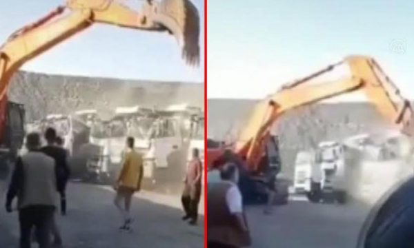 Nuk e paguan për punën e bërë, i riu shkatërron kamionët e ndërrmarrjes ku punonte