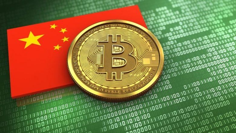 Kina ndalon transaksionet me kriptovalutat, bie vlera e Bitcoin