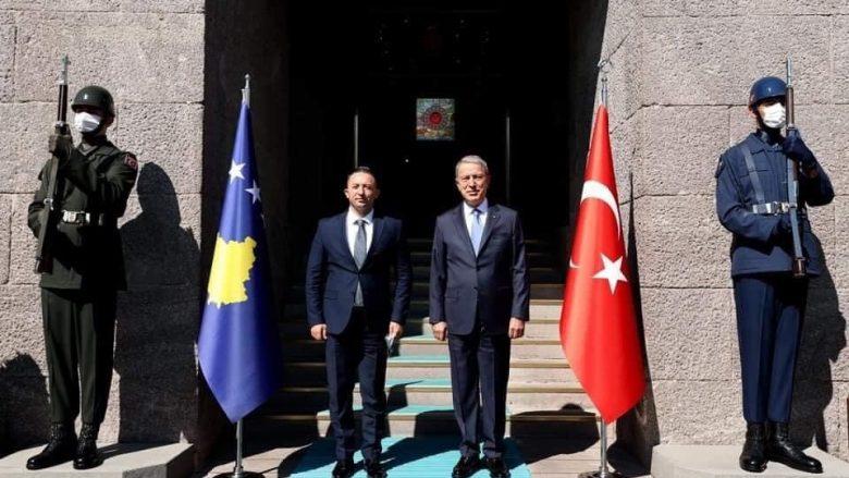 Kosova dhe Turqia do të bashkëpunojnë në trajnimin e Ushtrisë së Kosovës