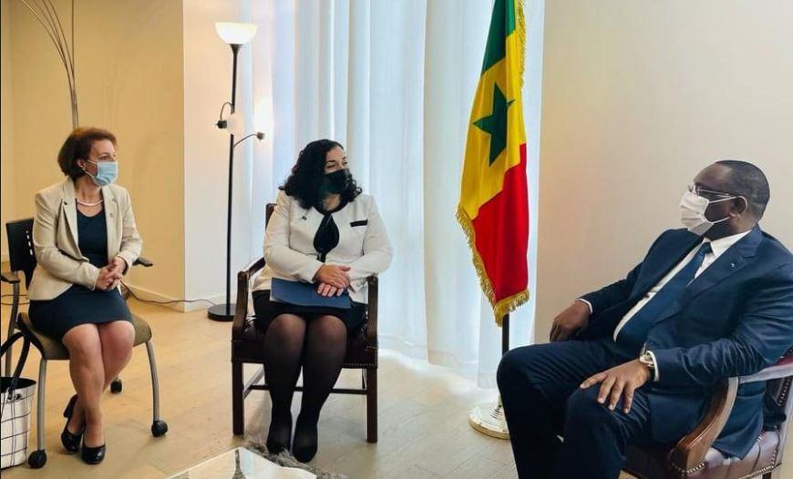 Osmani dhe Gërvalla takohen me presidentin e Senegalit, bisedojnë për bashkëpunimin e dy vendeve