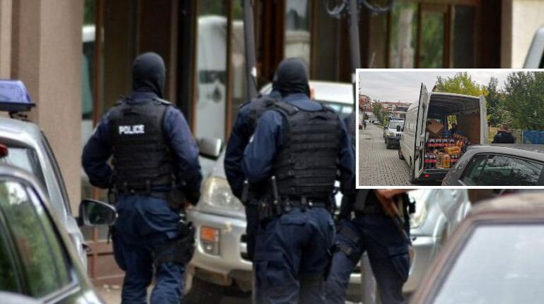 Policia jep detaje për aksionin kundër kontrabandës në veri dhe komuna të tjera