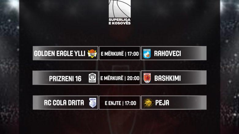 Derbi në javën e gjashtë të Superligës së Kosovës në basketboll